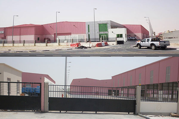 New Industrial Area Factory
