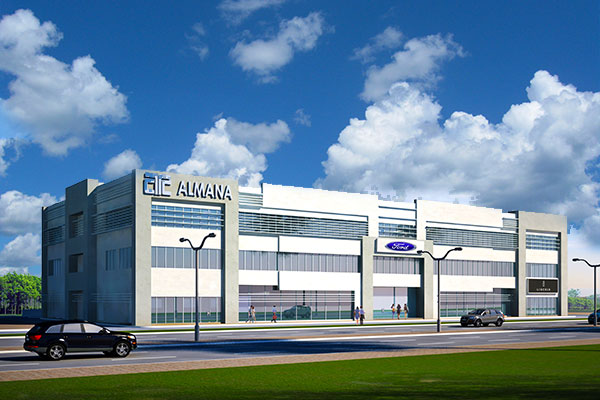 Palm City Commercial Complex, Salwa Road (2B+G+2)