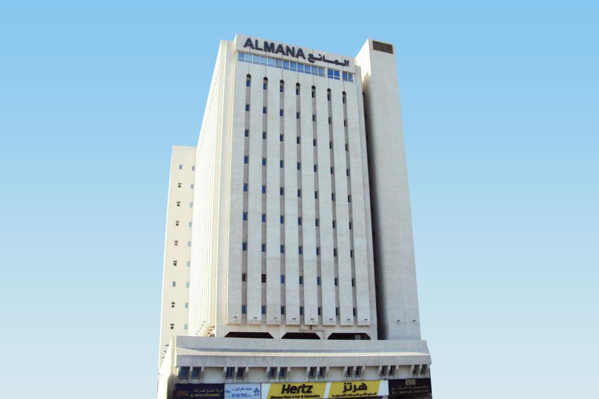 Almana Tower( B+G+11+P), Airport Road